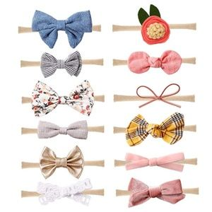 Baby Girl Headbands and Bows Accessories